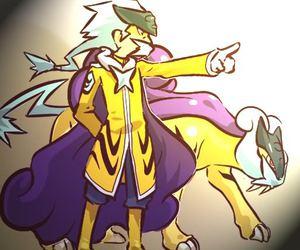 pokemon and raikou image