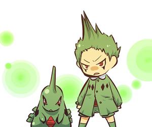 pokemon, gijinka, and larvitar image