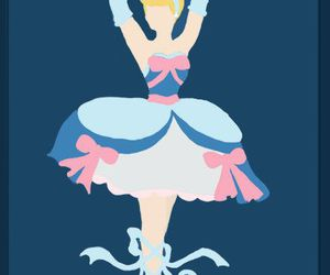 cinderella, disney, and ballerina image
