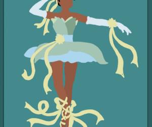 disney, tiana, and ballerina image