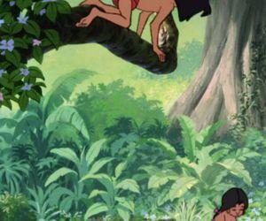 disney, mowgli, and shanti image