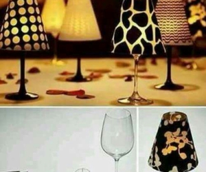 diy, lamp, and candle image