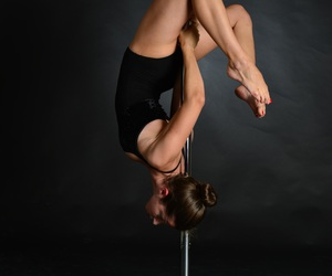 dance, happy, and poledance image