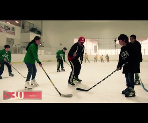 face off, game, and hockey image