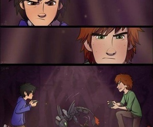 hiccup, disney, and dreamworks image