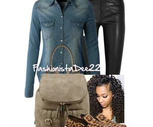 backpack, fashion, and Polyvore image