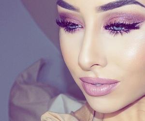 lips, make up, and eyeshadow image