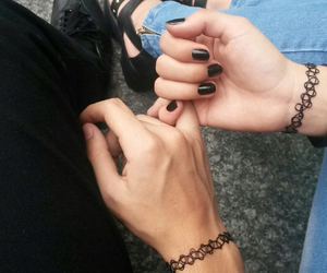 black, couple, and grunge image