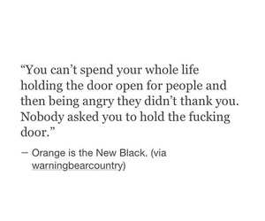 quotes, orange is the new black, and life image