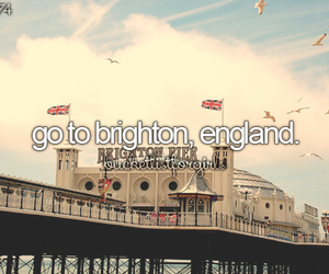brighton, bucketlist, and england image