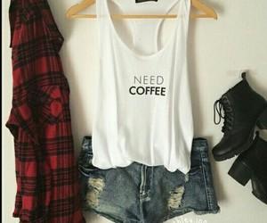 shirt, t-shirt, and jeansorts image