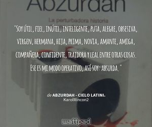 cielo, quote, and abzurdah image