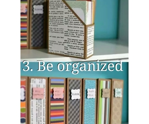 be, organized, and bucket image