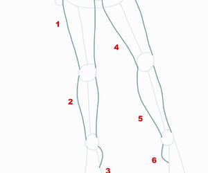 drawing tips, drawing how to, and drawing legs image