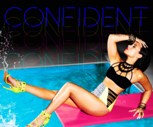 confident, cover, and single image