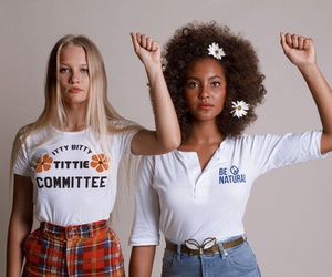 girl and feminism image