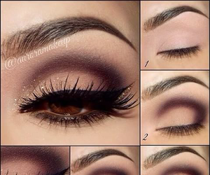 eye, make up, and sombras image