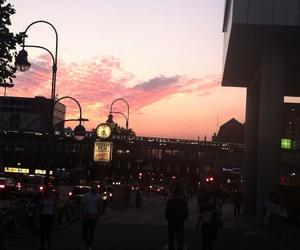 beautiful, berlin, and evening image