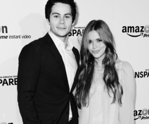 holland roden, dylan o'brien, and stydia image