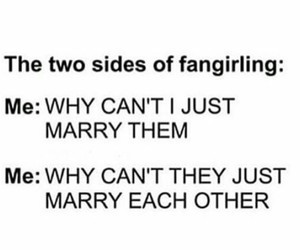 true, my babies, and fangirling image