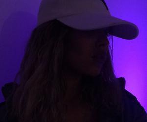 girl, purple, and tumblr image