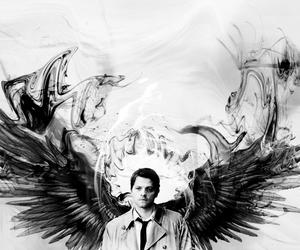 angel, supernatural, and misha collins image