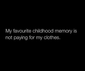 childhood, quotes, and shopping image