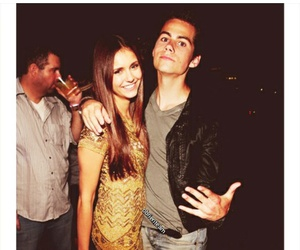 dylan o'brien, Nina Dobrev, and teen wolf image
