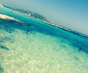 ocean, cyprus., and nissibeach image