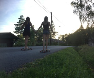 longboard, fridens, and love image