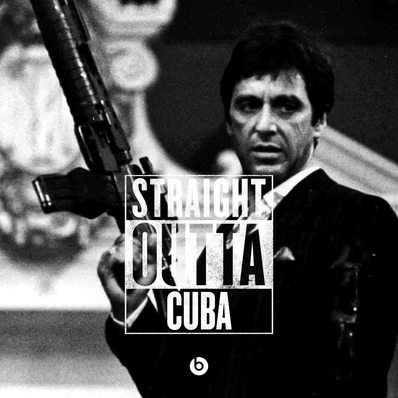 Straight Outta Cuba Uploaded By M16 On We Heart It