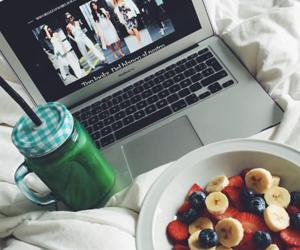 fashion, food, and healthy image