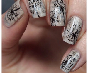 nails, words, and beige image