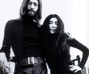 john lennon, the beatles, and Yoko Ono image
