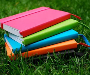 book and notebook image