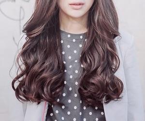 hair, girl, and fashion image