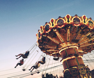 amusement, carnival, and park image