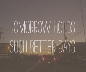 quote, tomorrow, and text image