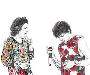 fanart, cute, and larry image