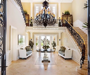 beauty, mansion, and luxury house image