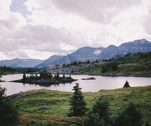 nature, landscape, and lake image