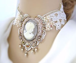 vintage, beautiful, and cameo image