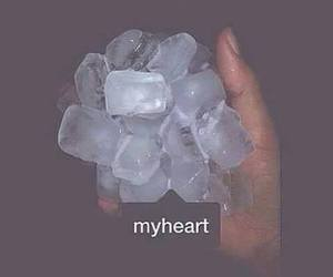 broken, fuck love, and heart image