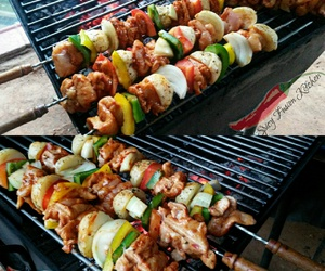 africa, bbq, and food image