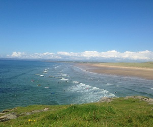 beach, beautiful, and donegal image