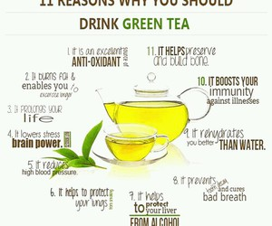 drinks, healthy, and tea image