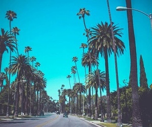 los angeles, travel, and traveling image