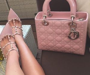pink, fashion, and bag image