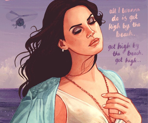 lana del rey, music, and art image