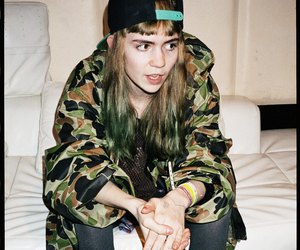cool, grimes, and grunge image
